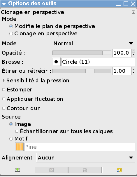 options du clonage en perspective